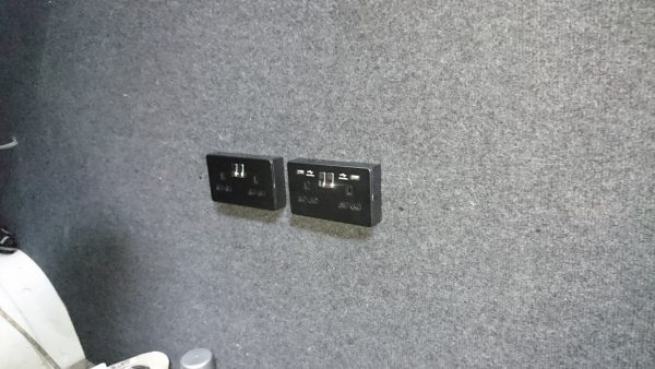 Gaming Squad electrical sockets