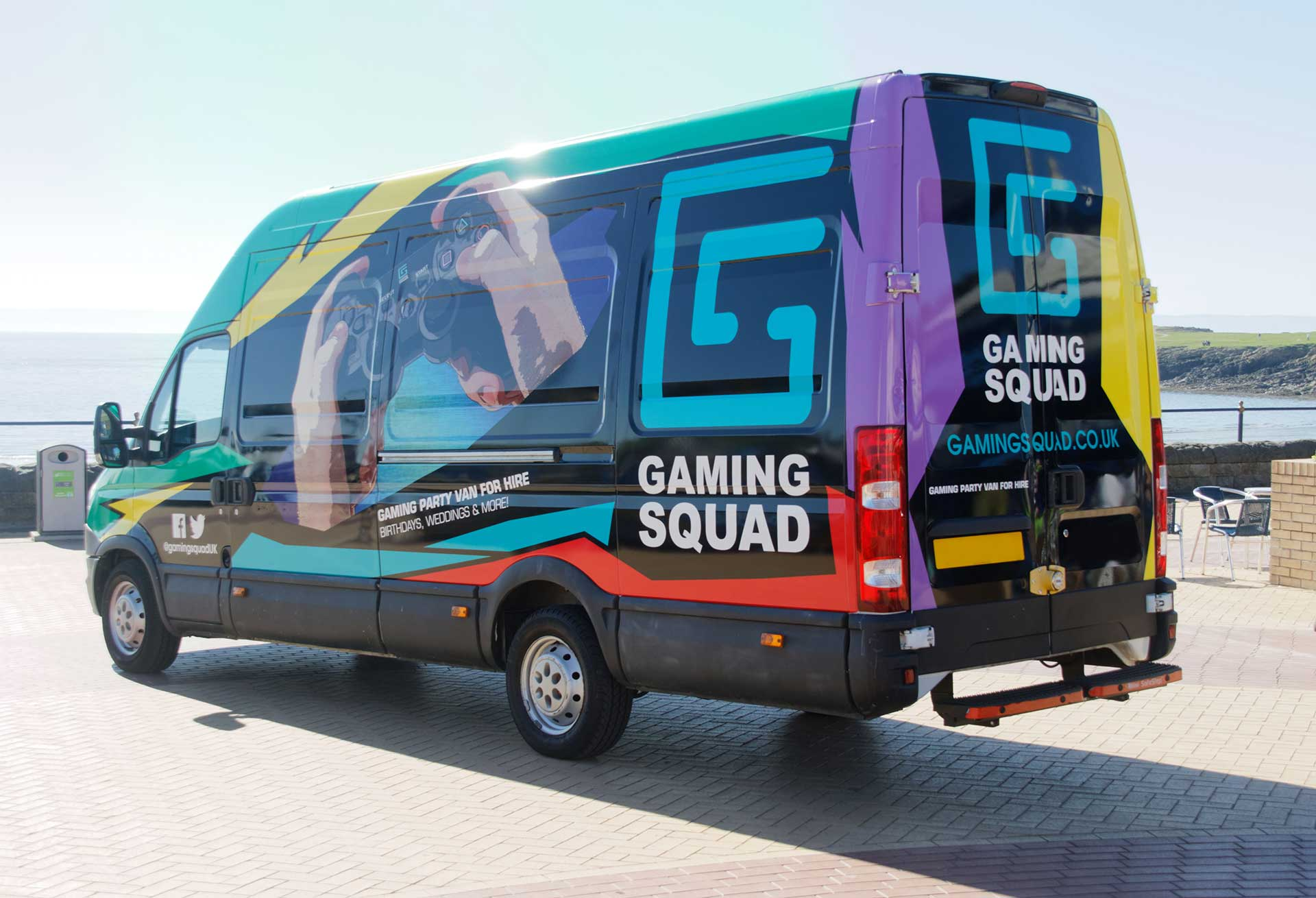 Gaming Squad South Wales gaming vans